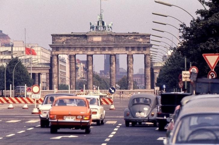 1970'te Çekilmiş, Avrupa'dan 'Renkli' Fotoğraflar