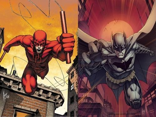 Marvel - DC Kapışmasında 3. Round: Batman vs Daredevil