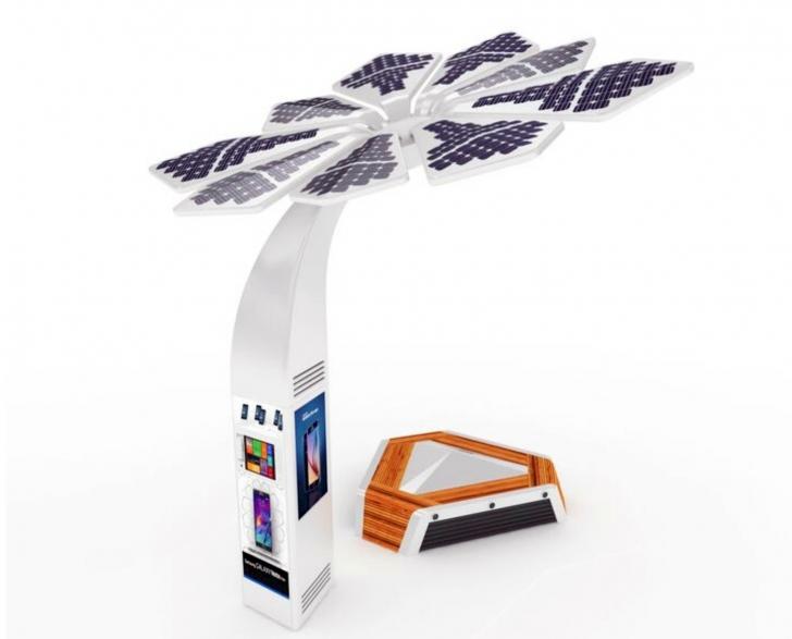 3D Yazıcı ile Hazırlanmış Solar Palmiyeler