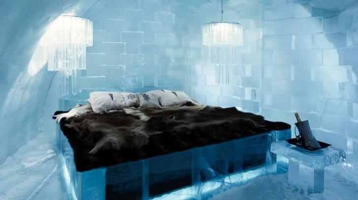 Ice Hotel Jukkasjarvi, İsveç