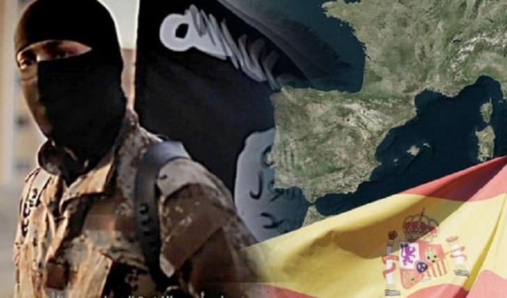"""IŞİD'den İspanya'ya Korkutan Tehdit """"Topraklarımızı İstilacılardan Geri Alacağız"""""""