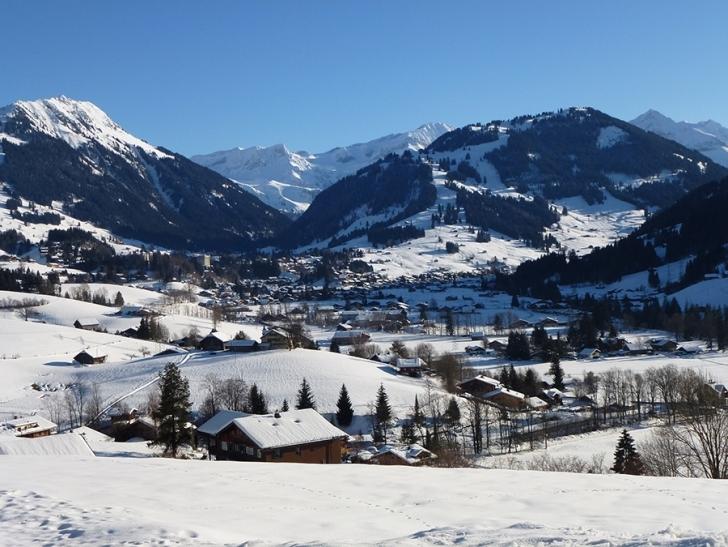4. Gstaad, İSVİÇRE