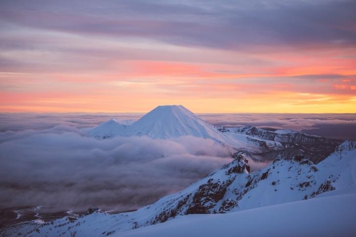 1. Ngauruhoe Dağı, Tongariro Ulusal Parkı