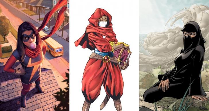 Hepsi Amerikan Olacak Değil Ya! İşte Orta Doğu'lu 5 Süper Kahraman