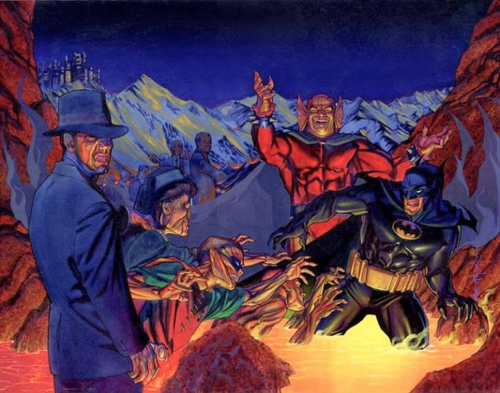 Batman Büyülü Güçlere Sahip Düşmanlarıyla Karşılaşmalarını Nasıl Kazanabiliyor?
