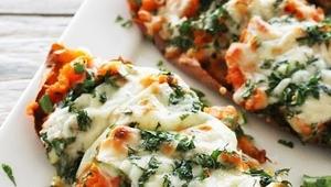 Ispanaklı Peynirli Közlenmiş Patates