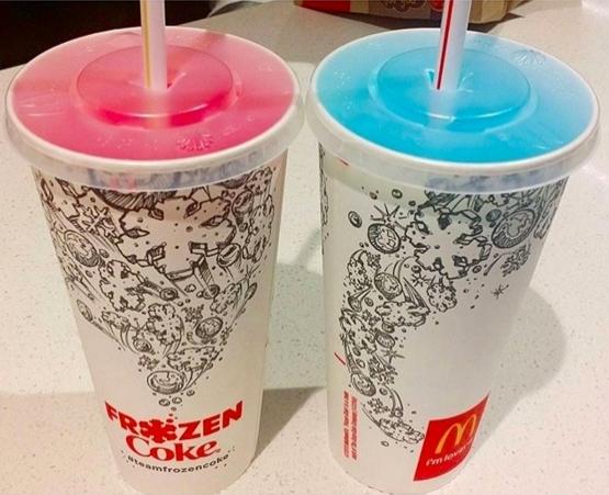 7. Avusturalya: Mc Donalds'tan buzlu içecek