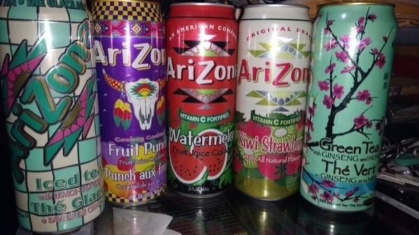 27. Amerika: Bir büyük kutu Arizona buzlu çay