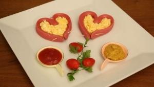 Sevgililer Gününe Özel Birbirinden Keyifli Kahvaltı Sunumları