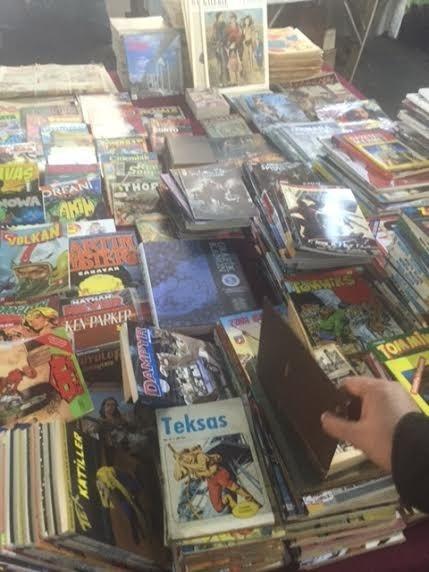 Kitaplar, romanlar ve çizgi romanlar