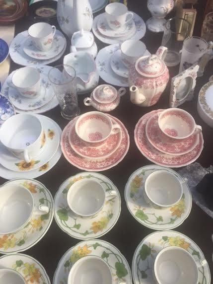 Çay takımları (İngiliz)