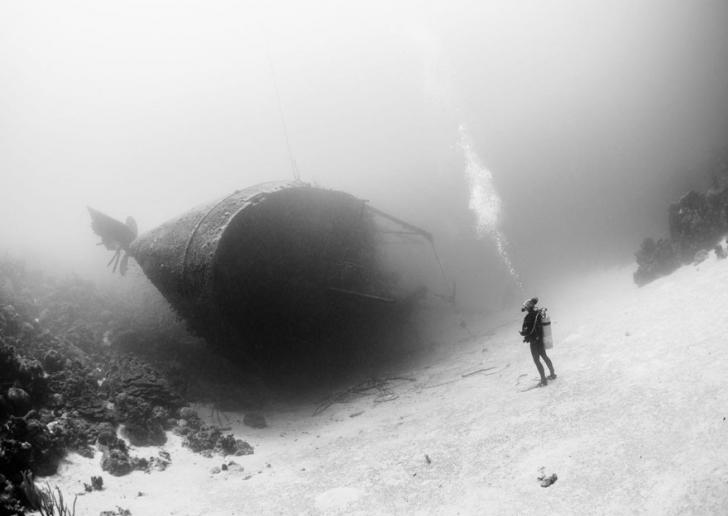 20. Batık Gemi, Bonaire Karayip Adası