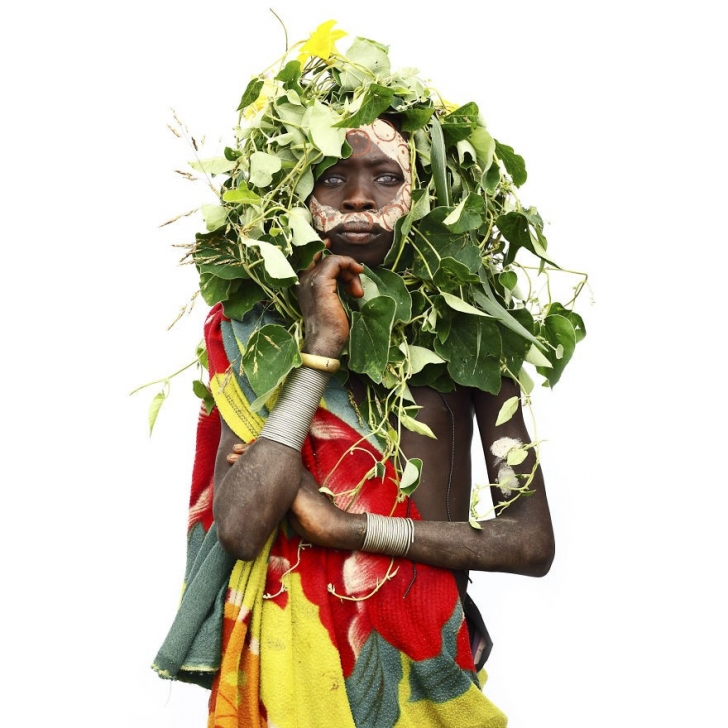 Suri'li kız, Etiyopya