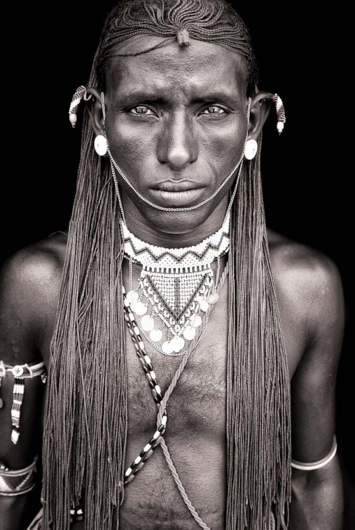 Samburu'lu savaşçı, Kenya