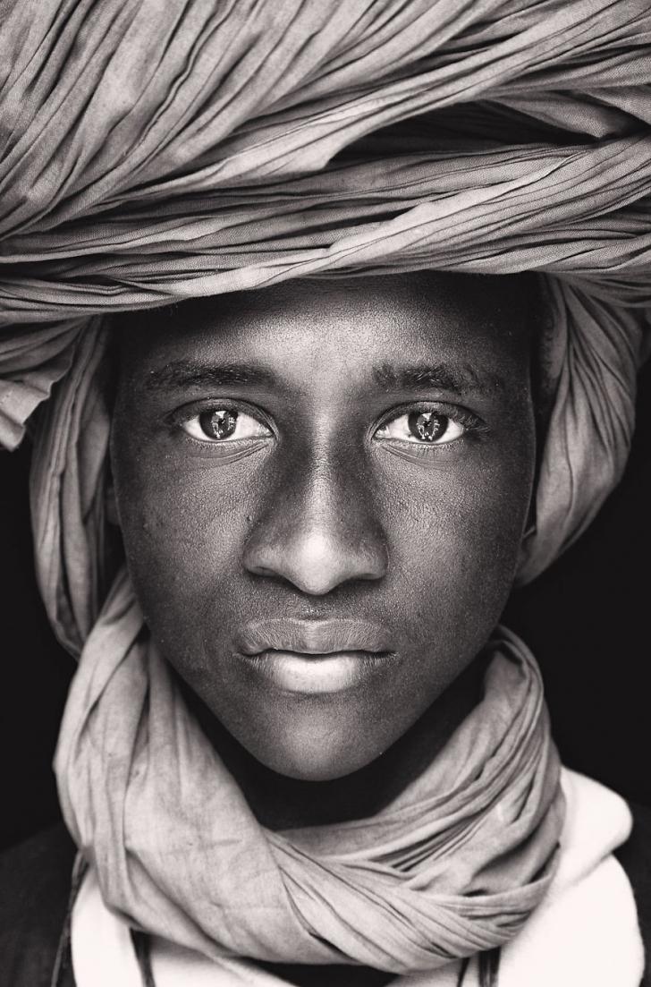 Tuareg'li çocuk, Mali