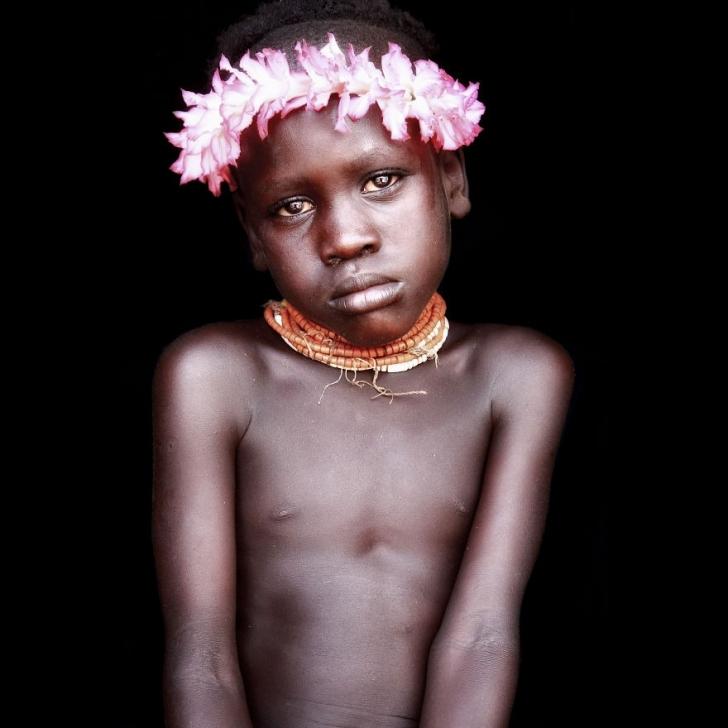 Karo'lu çocuk, Etiyopya