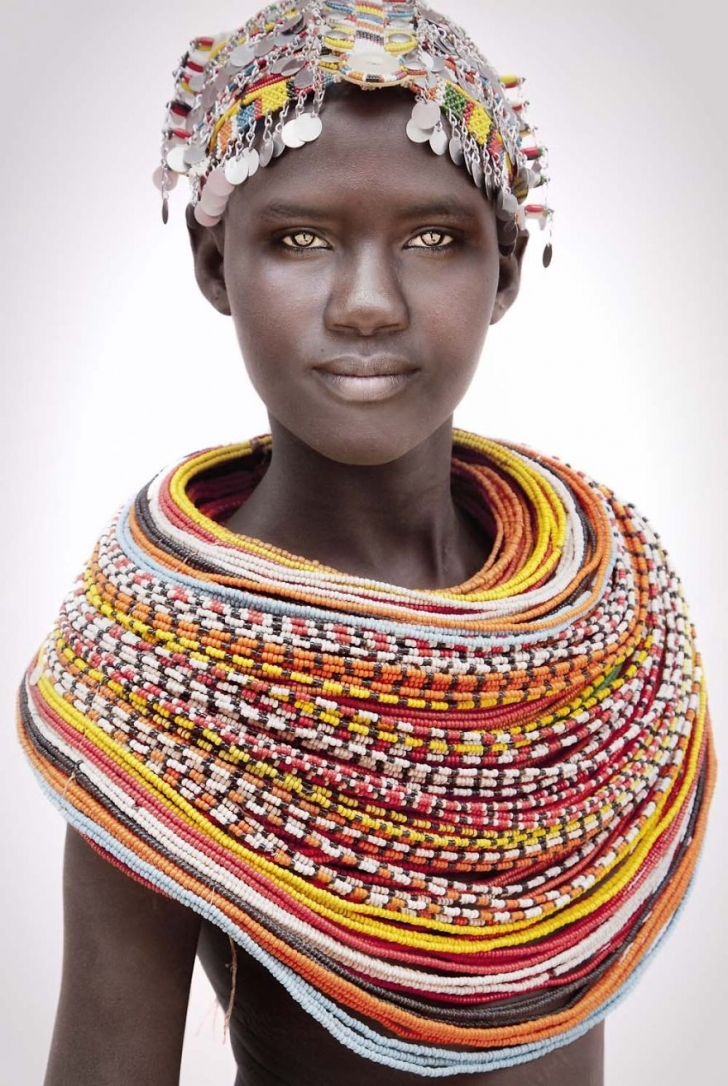 Samburu'lu bekar kadın