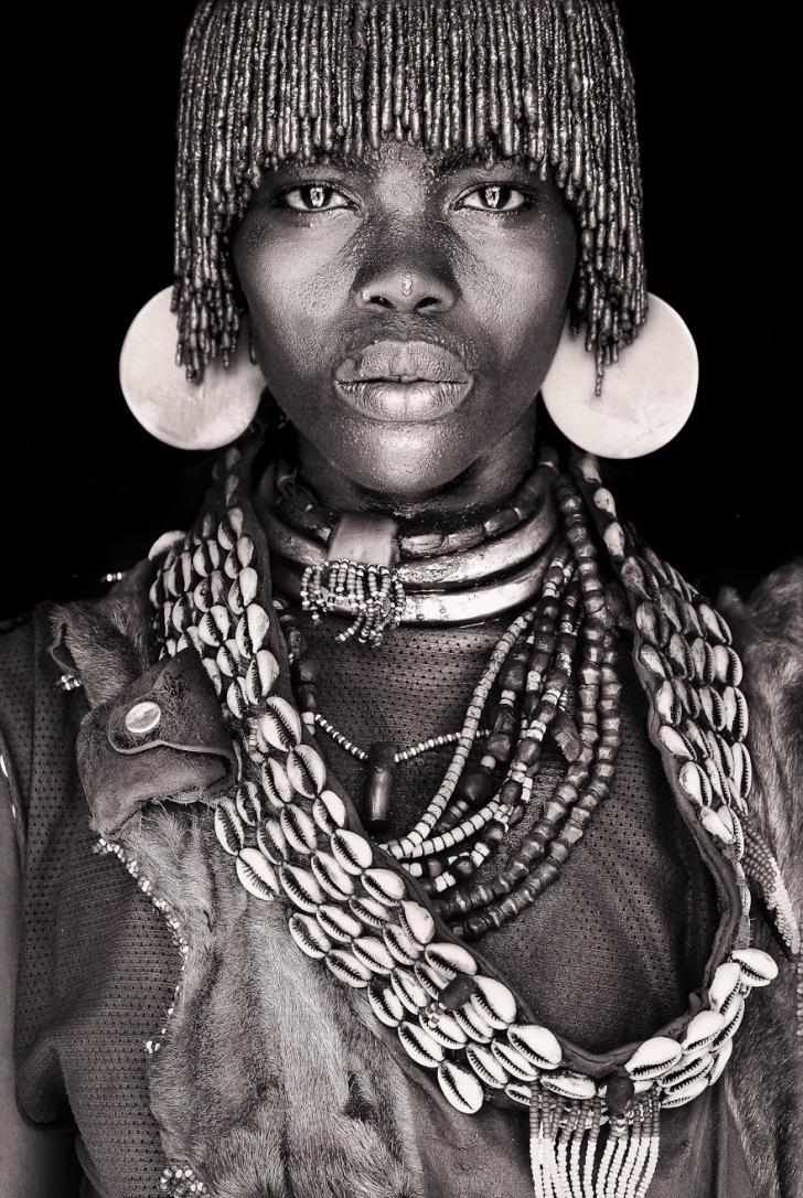 Dünyayı Gezen Fotoğrafçının Afrika'dan İnsan Fotoğrafları Koleksiyonu