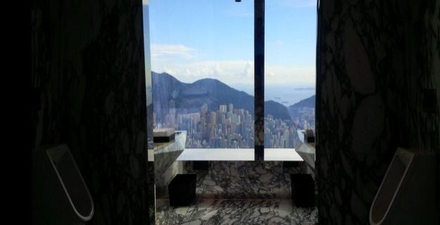 11. Hong Kong üzerinde Ritz-Carlton'da.