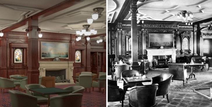 Sigara Odası, Londra'da erkeklerin zaman geçirdiği centilmenler kulübünü andırıyor.