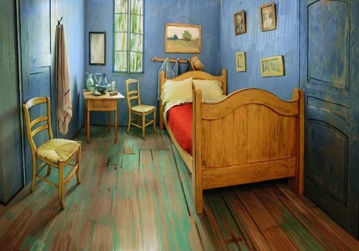 Van Gogh'un Efsane Odasında Bir Gece Geçirmek İster Misiniz?