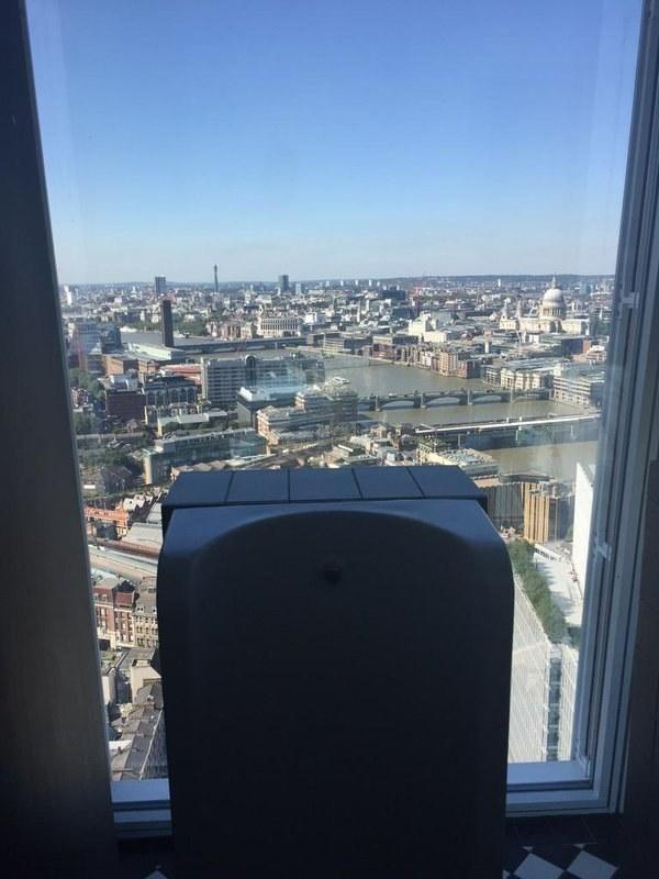 7. Gerçekten, the Shard kulesinde işemeden yaşamış sayılmazsınız.