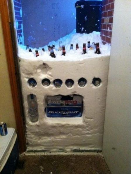 Kanada'da buzdolapları