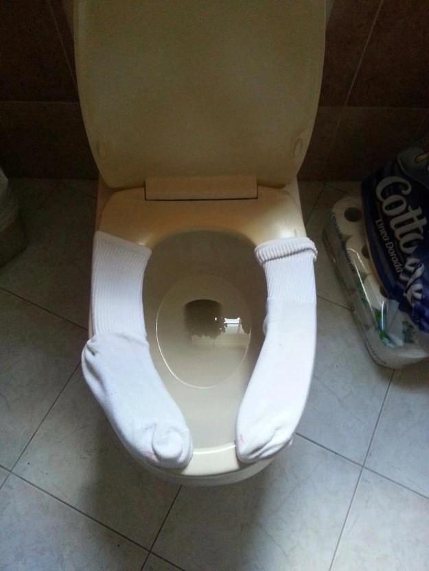 Kanada'da tuvaletler