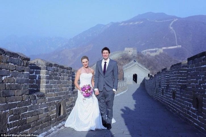 """""""Çin'de iken ikimiz de """"Toprak Askerleri (Terracotta Army)'i görmek istedik ve ikimiz de Hindistan'a gitmek istiyorduk."""""""