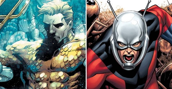 Marvel DC'ye Karşı 7. Round: Ant-Man ve Aquaman Kapşıyor