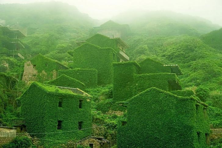 Doğa, Terk Edilmiş Bu köyü Terk Etmedi!