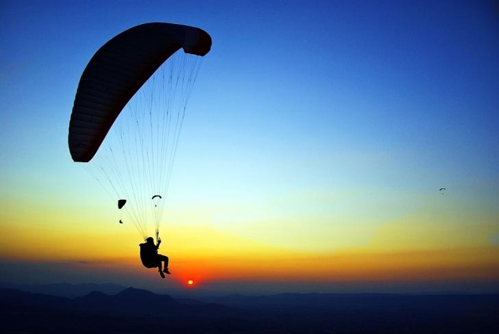 En 'Babadağ'da Yamaç Paraşütü Yapmak