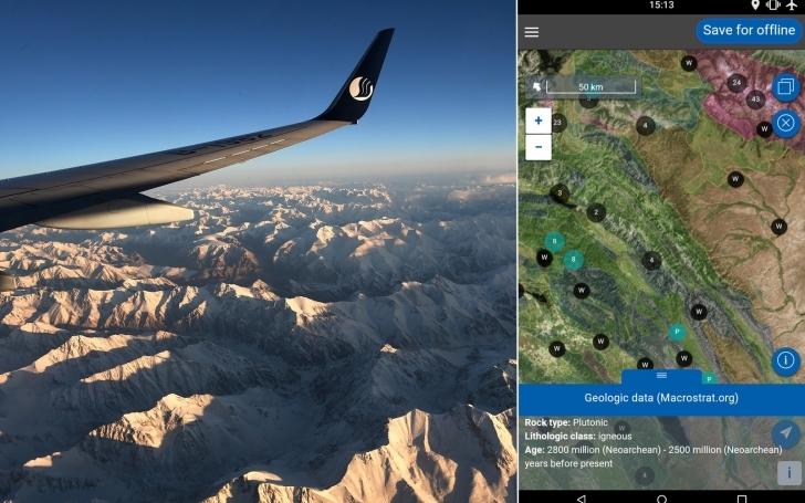 Bu Uygulama Uçak Penceresinin Dışında Ne Olduğunu Size Söyleyecek