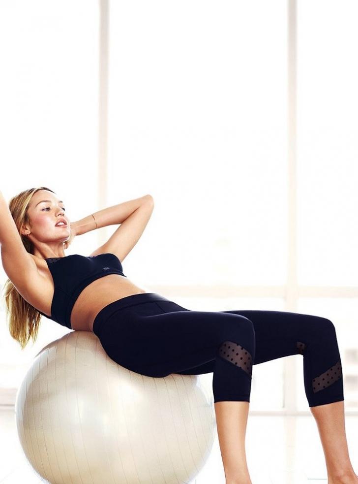 Victoria's Secret Modellerinden Sıkılaşma Garantili 10 Egzersiz Taktiği
