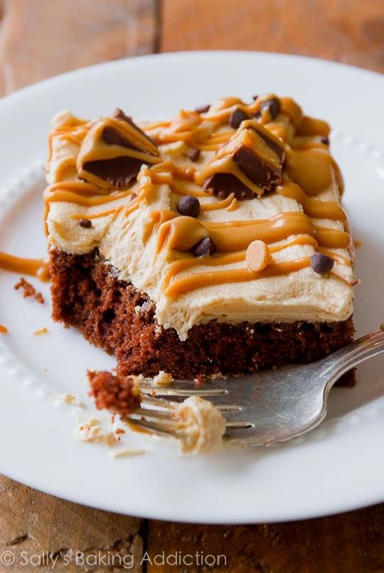 Fıstık Ezmeli, Çikolatalı Kek