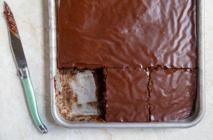 Çikolata ve Naneli Kek