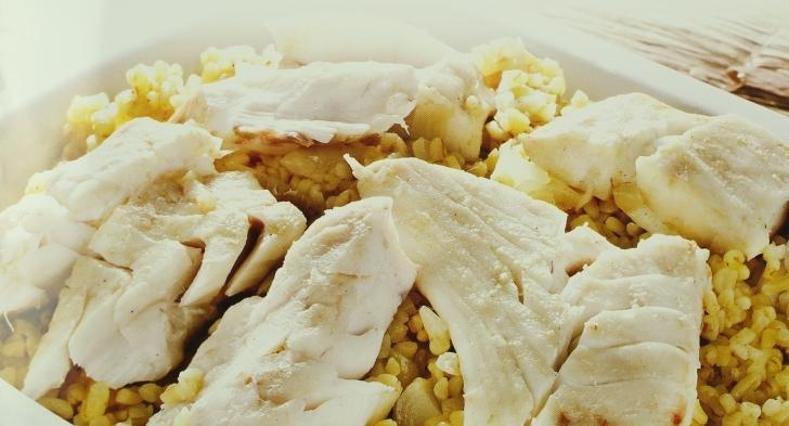 Bulgur Pilavlı Kimyonlu Balık