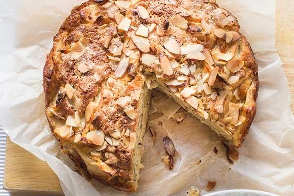 Glutensiz Bademli Kek