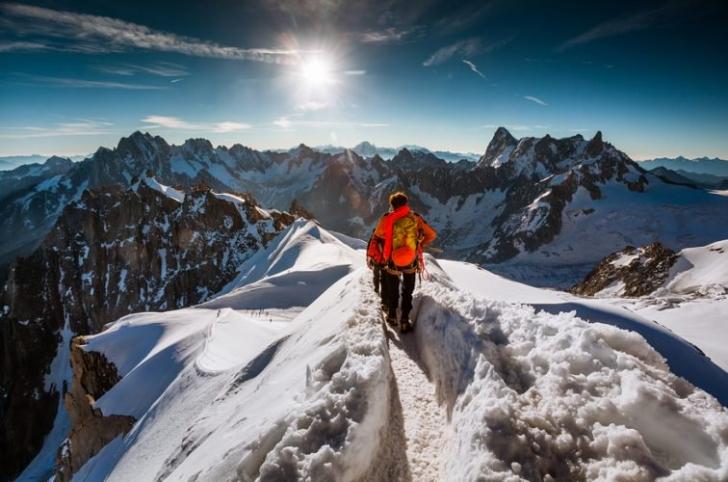 Dünya içinde başka bir dünya: Aiguille Du Midi Dağı