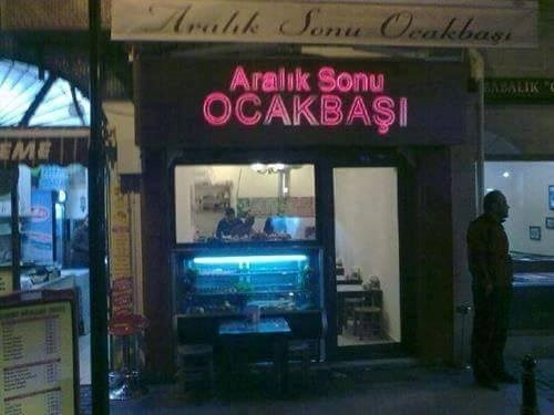 Yurdum insanından yaratıcılıkta çığır açan dükkan isimleri.