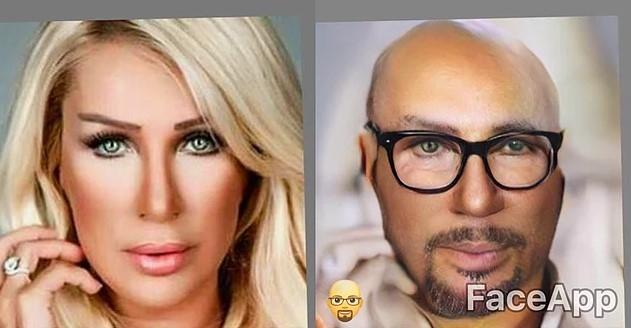 Kadın ünlülerimiz erkek olsa nasıl görünürlerdi?