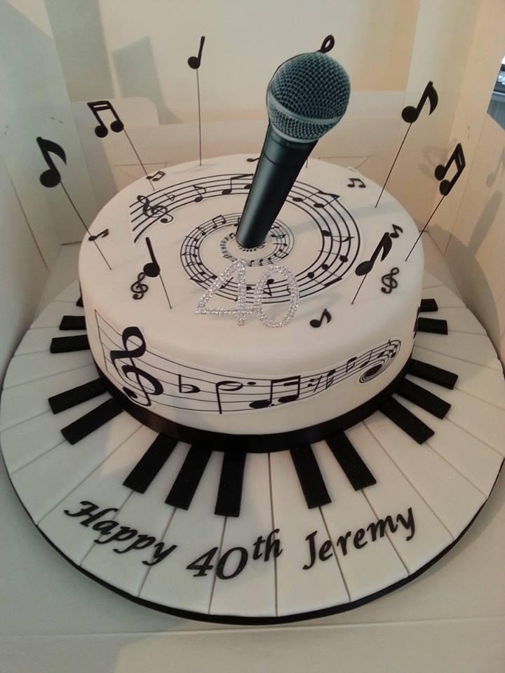 Торт для певца фото